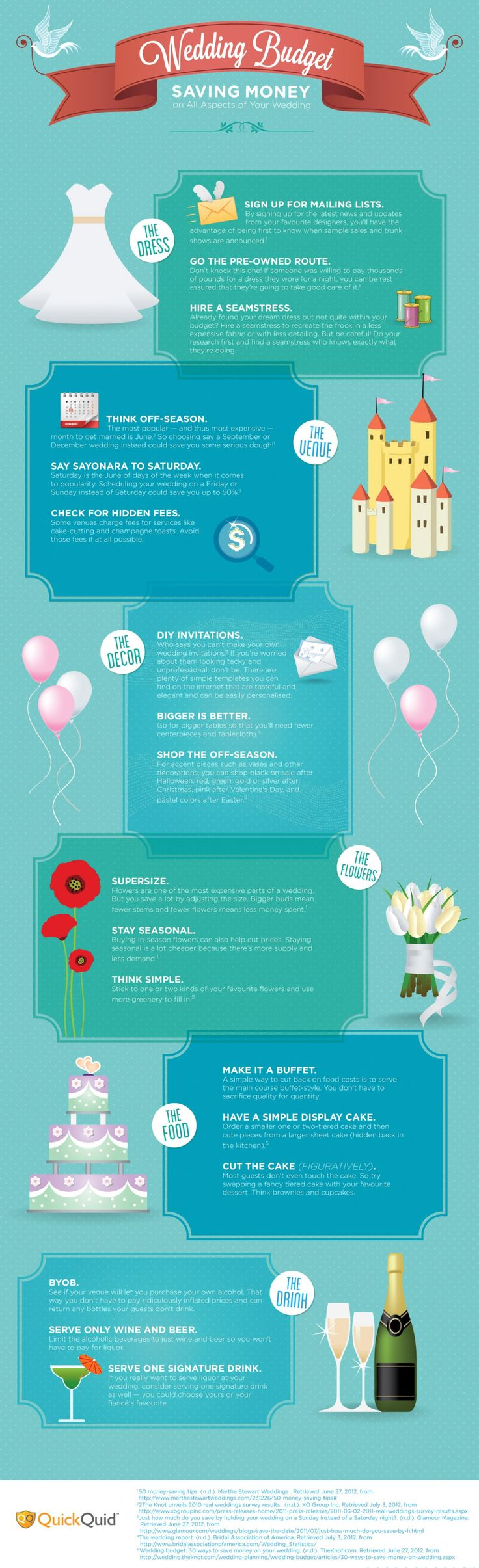 Save money #budgetweddinginfographics #weddingtips http://brieonabudget.com/