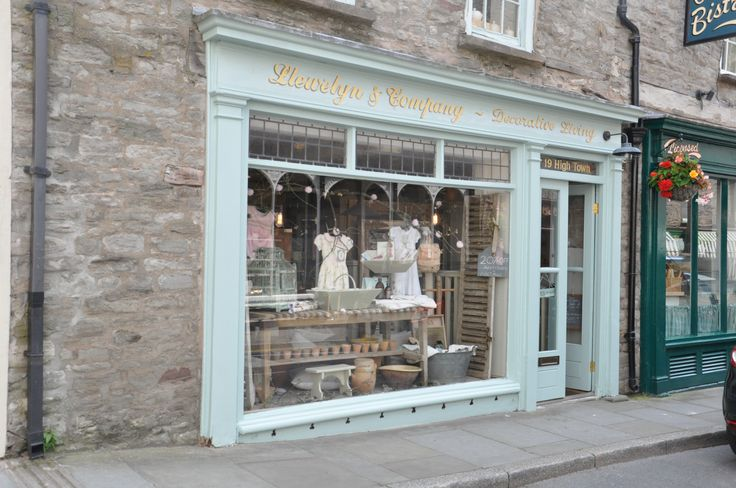 Hay on wye antique shops