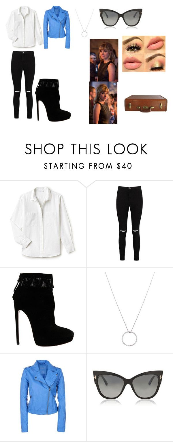 """Julia Maddon."" by serein19 ❤ liked on Polyvore featuring Lacoste, Boohoo, Alaïa, Roberto Coin and Tom Ford"
