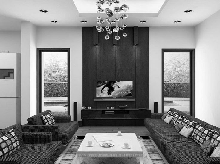 Interior Living Room Furniture Modern Brown Living Room Designs With Wide  Screen Tv Unit Beautiful Decorations Of Interior Design With Lcd Tv Screen  Chinese ...