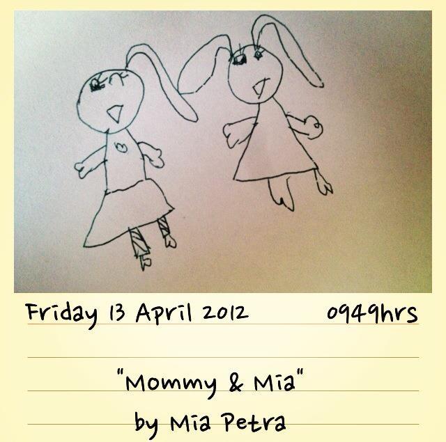Original Art by MiaPetra (5yr old)