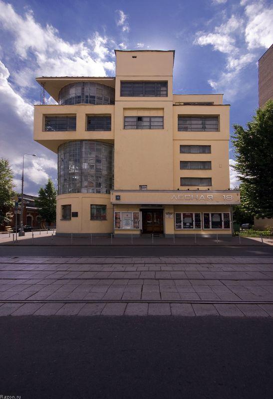 Конструктивизм в архитектуре Москвы: moya_moskva