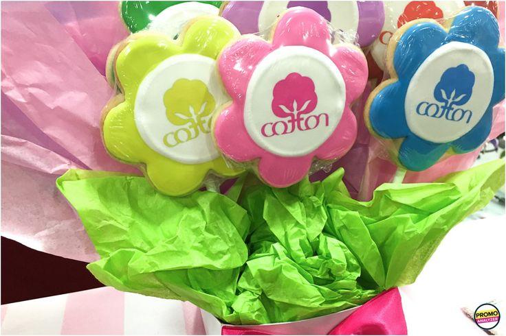 custom #cookie bouquet #promotionalitem