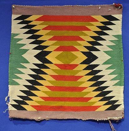 D - Navajo Samplers - Germantown - Handspun - 'Navajo Germantown Sampler' - Len Wood's Indian Territory