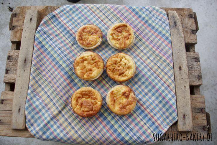 Der Klassiker im Mini-Format: Kleine Quiches #Rezept #recipe
