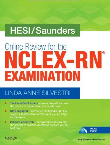 18 best hesi help images on pinterest nursing schools schools for hesisaunders online review for the nclex rn examination user guide and access fandeluxe Image collections