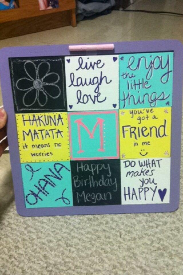 Best Friends Birthday Present DIY