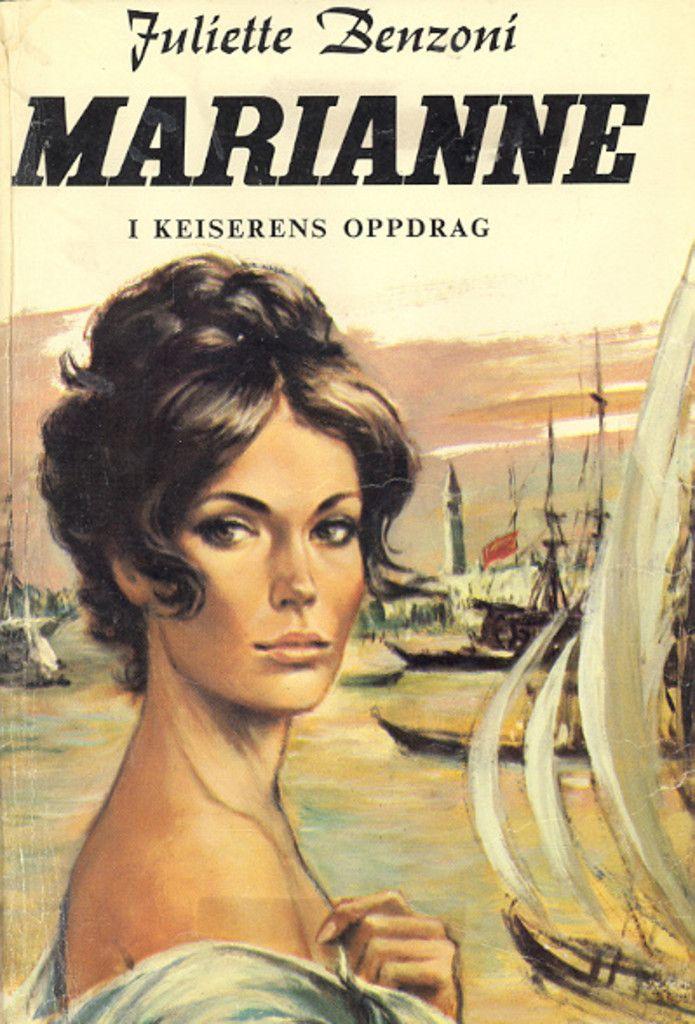 """""""Marianne i keiserens oppdrag"""" av Juliette Benzoni"""