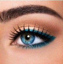 Blaues make up