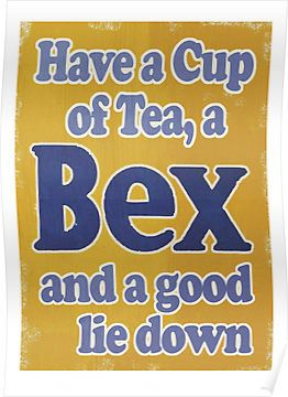 A cup of tea, a Bex headache powder & a good lie down.