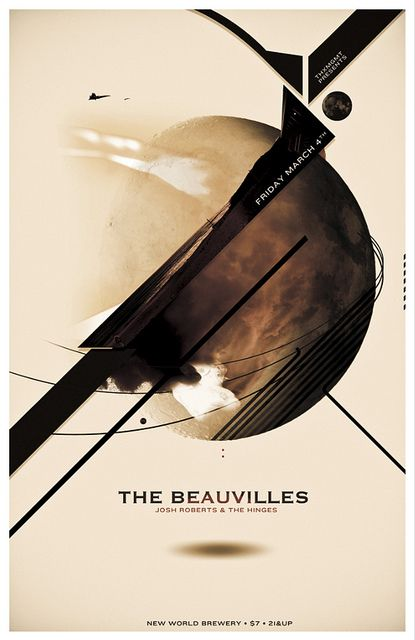 The Beauvilles by LAYERD VERSUS, via Flickr