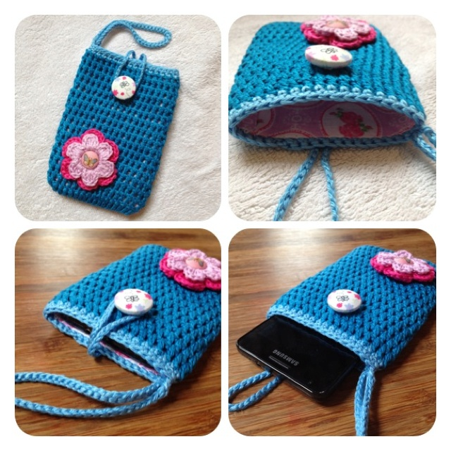Sweet case(cell phone or camera) by SweetHandmade Crochet