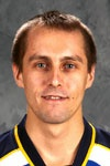 Jaroslav Halak Goaltender of the St. Louis Blues hockey team