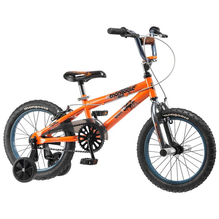 """Mongoose 16 inch Bike - Boys - Trickster - Pacific Cycle - Toys """"R"""" Us"""