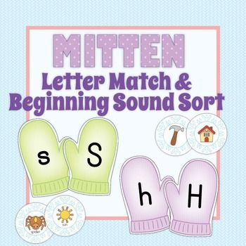 ... sound activities. Perfect with Jan Brett's The Mitten or The Hat