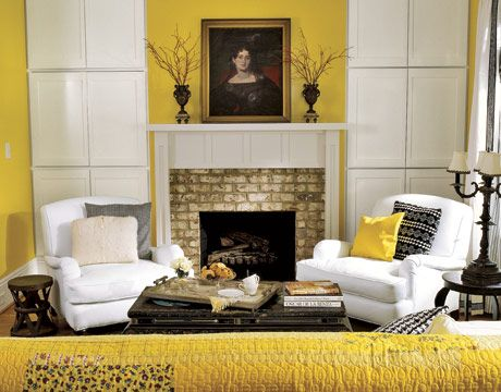 How A Sunny Home In North Carolina Decorates With Yellow
