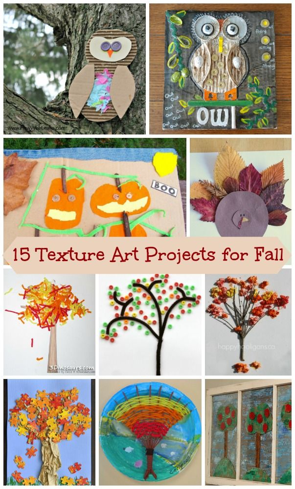 Love these multi-media, texture rich craft projects!