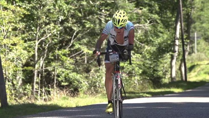 54-latek, któremu amputowano dwie kończyny, ukończył najtrudniejszy kolarski wyścig dla amatorów