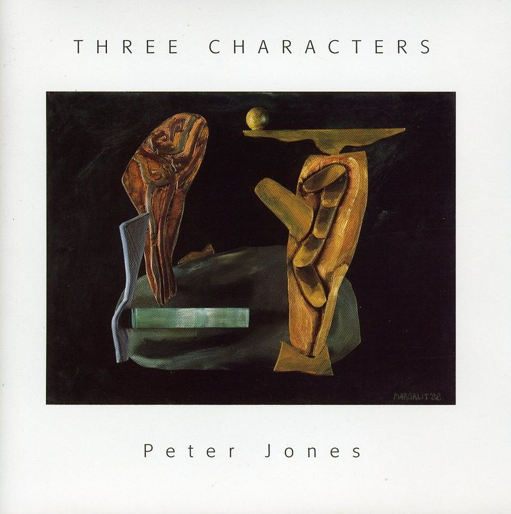 Peter Jones - Three Characters