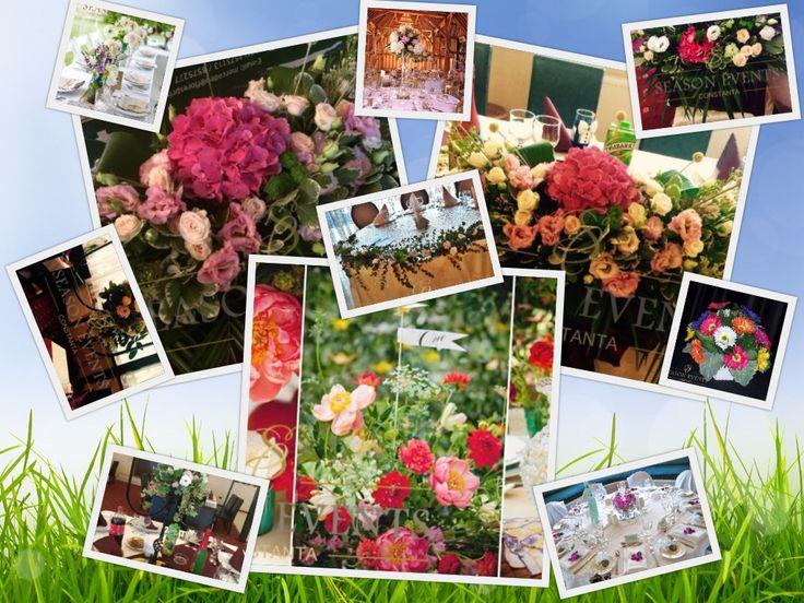 Va punem la dispozitie aranjamente florale Constanta pentru mesele invitatilor si masa de prezidiu in judetul Constanta– 0762649069
