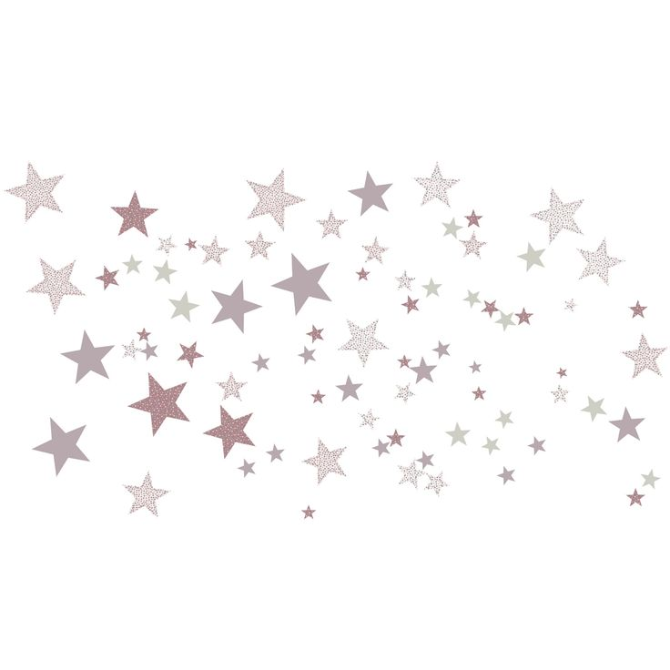 Stickers Etoiles constellation rose : Art for Kids - Stickers coeur / étoiles - Berceau Magique