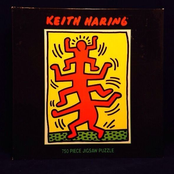 Keith Haring Puzzle Growing 1 1988 750 Piece Jigsaw Aids