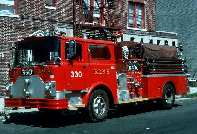 Fdny Mack Fire Trucks Google Search Vintage Fire
