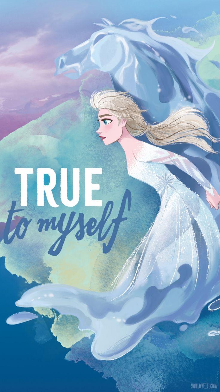 Big Frozen 2 phone wallpapers with Elsa (มีรูปภาพ) ภาพ