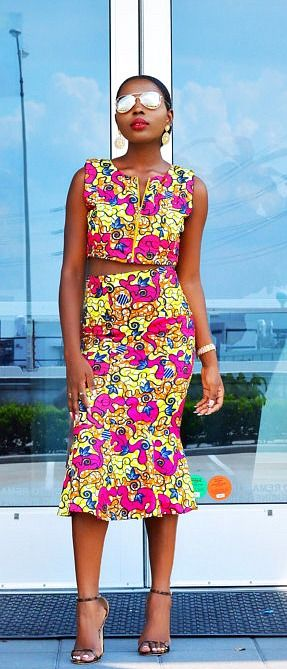 This is a classic and beautiful African print Skirt with Crop Top Made with high quality wax. Ankara | Dutch wax | Kente | Kitenge | Dashiki | African print dress | African fashion | African women dresses | African prints | Nigerian style | Ghanaian fashion | Senegal fashion | Kenya fashion | Nigerian fashion | Ankara crop top (affiliate)