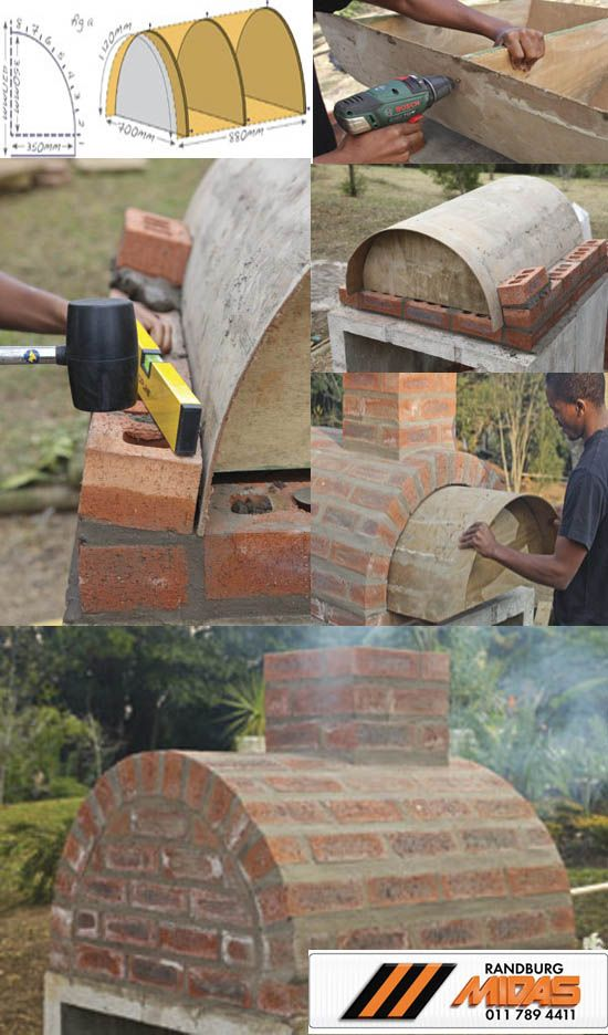 With help from Midas quality tools, building your own pizza oven is the perfect weekend project #Nuts&Bolts4Breakfast  The function of a masonry oven is to trap and radiate heat from a fire, built inside the oven. The design of a pizza oven is heat-efficient, allowing the use of stored heat and coals for long bakes instead of requiring a live fire at all times.  For more http://bit.ly/nutsandbolts4breakfast