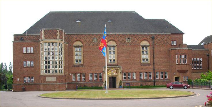 King Edward VI Rosehill Road school for girls, Handsworth, Birmingham.