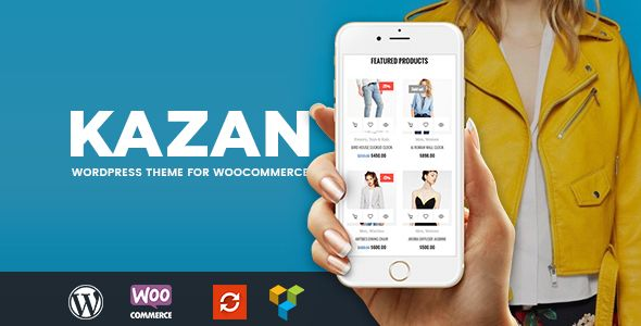 Kazan - Fashion Shop WooCommerce Theme
