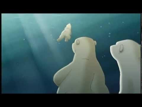 de klein ijsbeer; het begin.