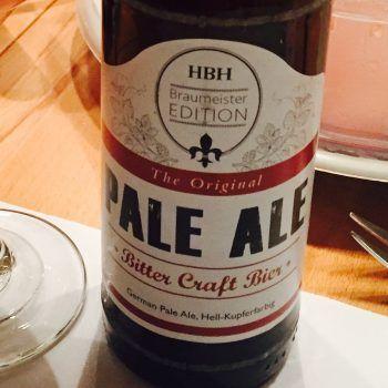 """HBH - Pale Ale """"Bitter Craft Bier"""""""