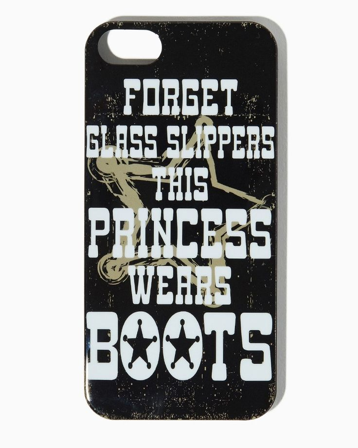 This Princess Wears Boots iPhone 5/5s Case | UPC: 410007307017