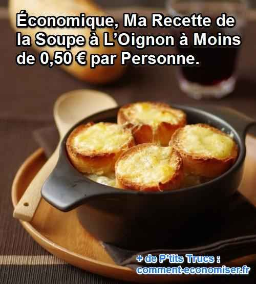 Grand classique de la cuisine française, ma recette de la soupe à l'oignon est idéale lors des soirées fraîches et des lendemains de fête. Elle est particulièrement recommandée pour perdre les éventuels kilos superflus... Mais aussi pour alléger votre note de courses !  Découvrez l'astuce ici : http://www.comment-economiser.fr/recette-soupe-oignon.html?utm_content=buffer15562&utm_medium=social&utm_source=pinterest.com&utm_campaign=buffer