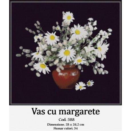 Goblen Vas cu margarete http://set-goblen.ro/flori/3566-vas-cu-margarete.html