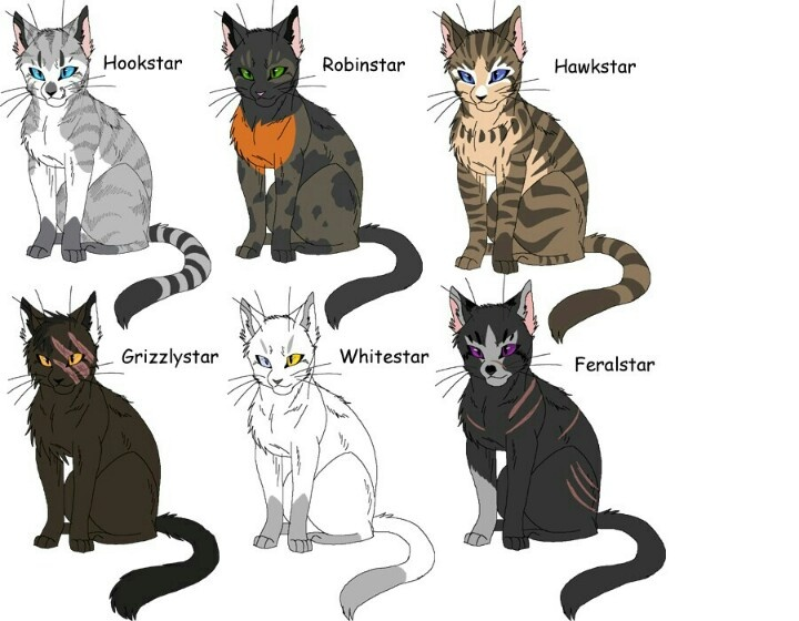Clan Leaders Warrior Cats Pinterest And Cat