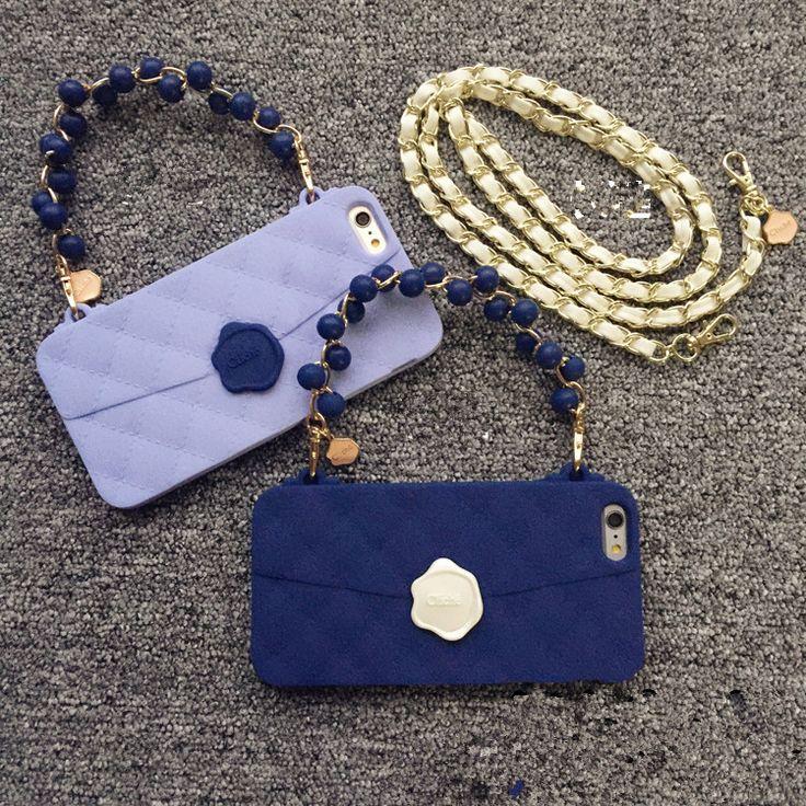 Chanelシャネルチェーン付きiPhone7/6s Plusケースが集まった!今年新作!シャネルiphoneケースチェーン【送料無料】たくさん!激安セール、chanel財布型など常に更新!