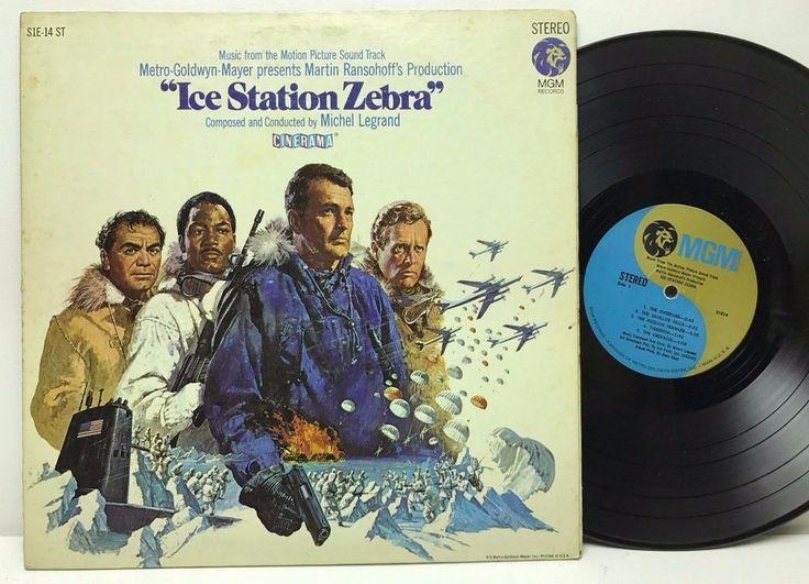 Ice Station Zebra Original Motion Picture Soundtrack LP, Vinyl Record, Album stores.ebay.com/capcollectibles