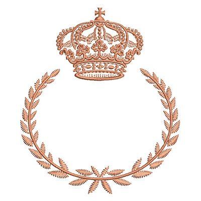 click aqui para comprar essa moldura com coroa e borde hoje mesmo!