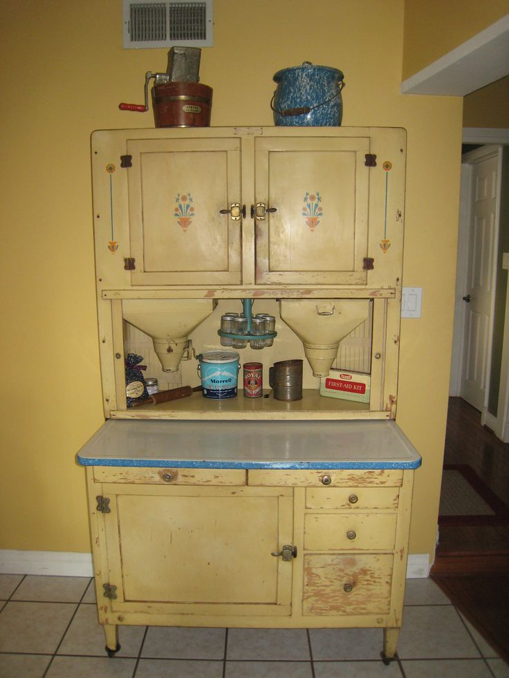 268 best HOME -- Hoosier Type Kitchen Cabinets images on Pinterest ...