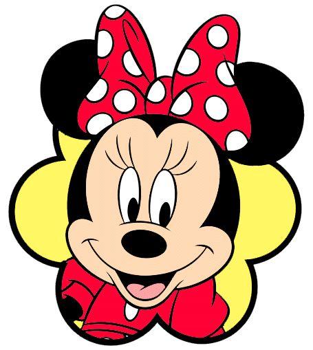Moldes cara Minnie Mouse - Imagui