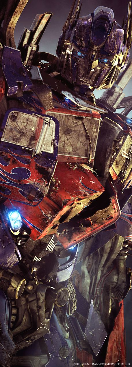 Optimus Prime from Bayverse Transformers - tumblr edit