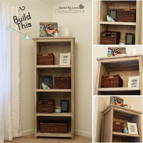 180 best images about upcycled stuff on pinterest for Diy basic bookshelf