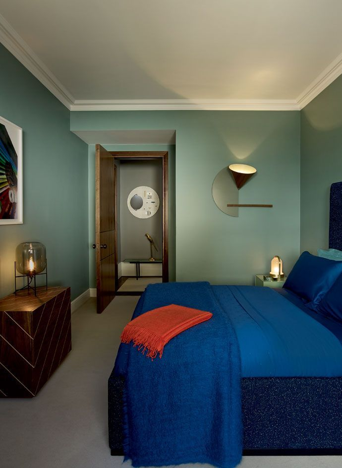 Composed Cruises Into Chelsea To Kit Out An Apartment With Aristocratic Aplomb Bedroom Interior DesignBedroom