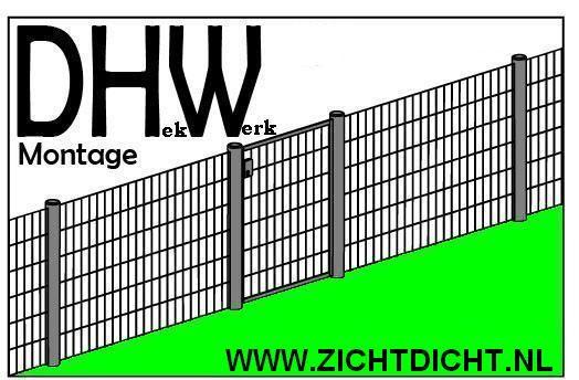 Welkom bij DHW ZichtDicht Montage, een jong en dynamisch bedrijf dat gespecialiseerd is in levering en montage van diverse soorten hekwerk bij particulieren en bedrijven. Ook voor tuinafscheiding, erfafscheiding en omheining van uw nieuwbouw koopwoning of huurwoning.