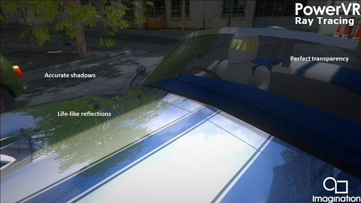 Fixed function ray traversal and acceleration structure building hardware in a mobile GPU - http://t.co/jBD9ZBVRcm http://t.co/1EI3gPKkWA   http://blog.imgtec.com/powervr-developers/powervr-gr6500-ray-tracing  The PowerVR GR6500 GPU offers high-high-performance ray tracing, graphics and compute in a power envelope suitable for mobile and embedded use cases.