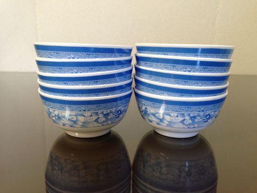 10-Piece Melamine Rice Bowls || eBay.com