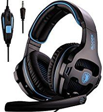 BUDGET GAMING HEADSET: Pro gaming headset at affordable price for console gamers CROSS PLATFORM: Compatible with Xbox One/PS4/PC/Mac/Tablet/iPhone/Smart ph